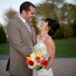 Erin & David's Neutral DIY, Budget-Friendly Virginia Wedding