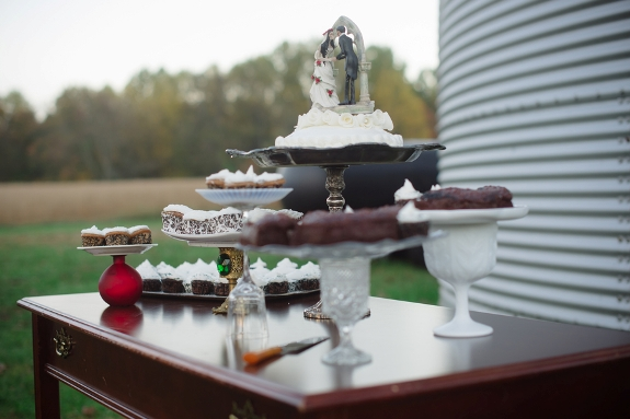offbeat halloween til death wedding maryland farm outdoors