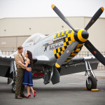 Capitol Inspiration: A Retro, Vintage Military Engagement Session