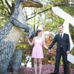 Allie & Danny's Offbeat, Dinosaurland Engagement Session in Virginia
