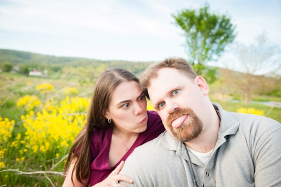 offbeat nerdy virginia engagement