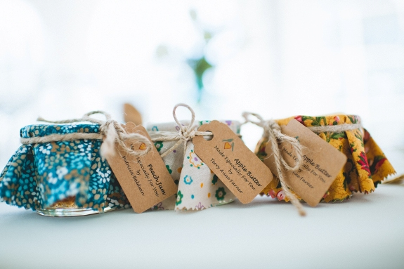 DIY Virginia wedding favors