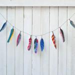 DIY Inspiration: Feather Garland Wedding Ideas