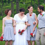 Capitol Inspiration: A Backyard DIY Wedding in the Blue Ridge Mountains