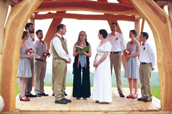 handmade DIY eclectic small budget Virginia mountains wedding
