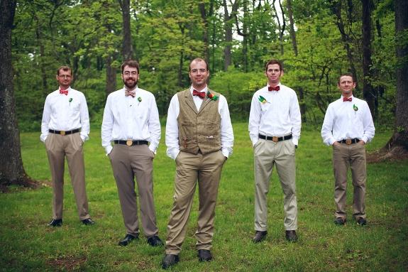 casual groomsmen
