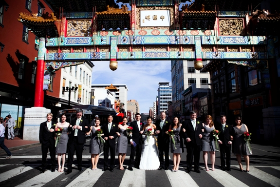 offbeat modern washington dc wedding chinatown