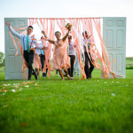 Bri & David's Offbeat Coral & Mint Wedding at Zion Springs Bed & Breakfast in Virginia