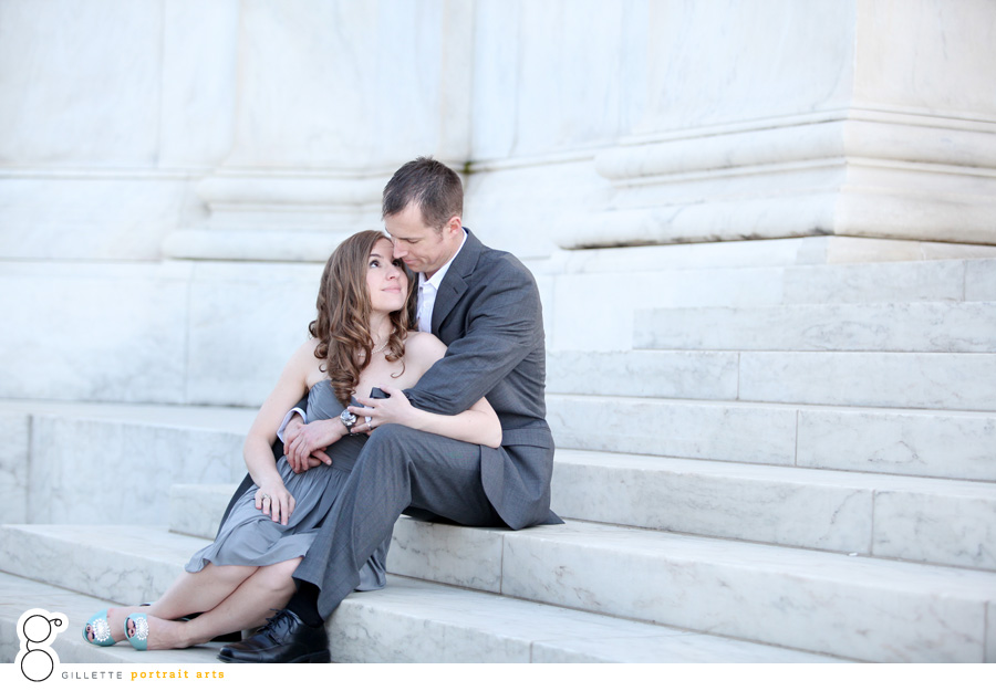 dc makeup engagement session