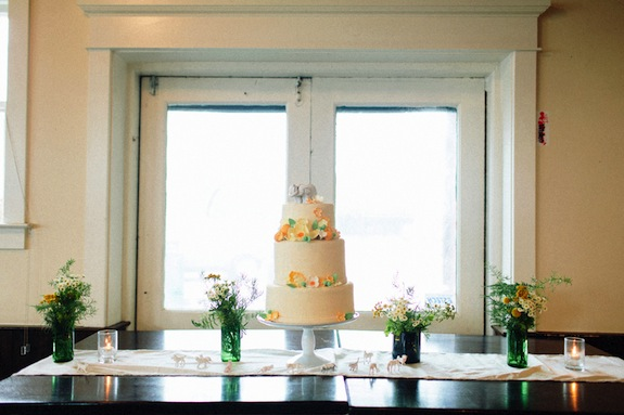 northside social wedding cake