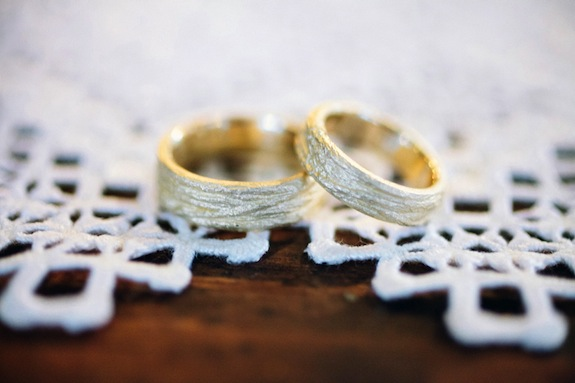 handmade bride groom wedding rings