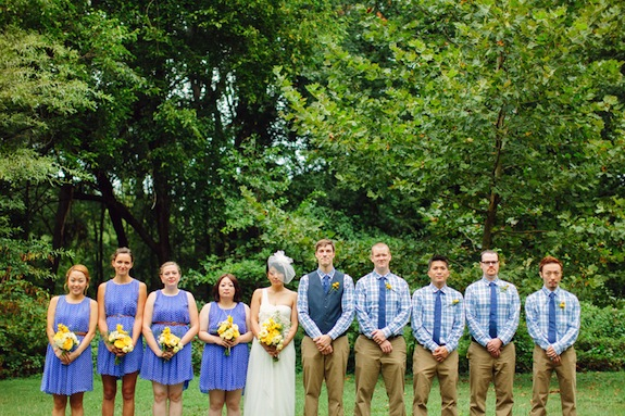 mismatched hipster plaid groomsmen
