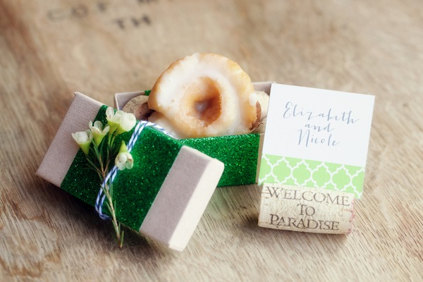 brunch wedding favors