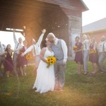 Alice & Chad's DIY Purple Maryland Barn Wedding at Linganore Winecellers