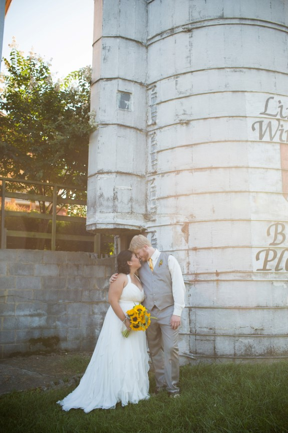 DIY rustic maryland barn wedding