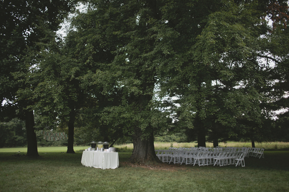 outdoor wedding ceremony maryland