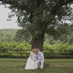Diggy & David's Relaxed, Outdoor Tent Maryland Wedding at Snow Hill Manor