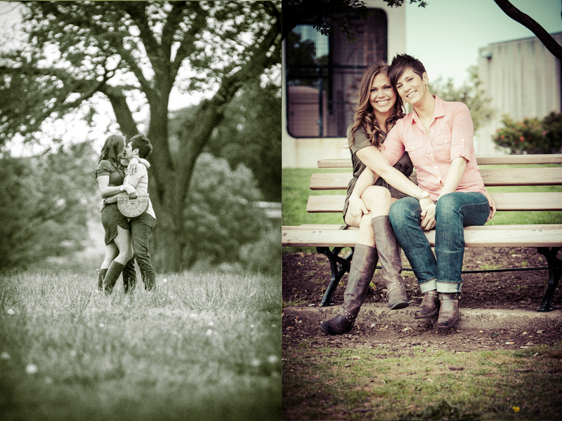 same sex richmond virginia libby hill park engagement pictures