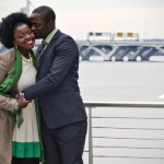Irene & Deji's National Harbor Maryland Engagement Pictures