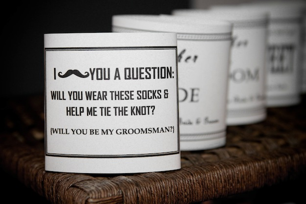 custom groomsmen socks unique gift