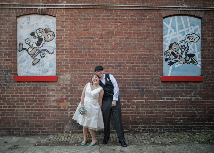 offbeat washington dc wedding