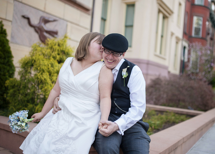 offbeat dc wedding portraits