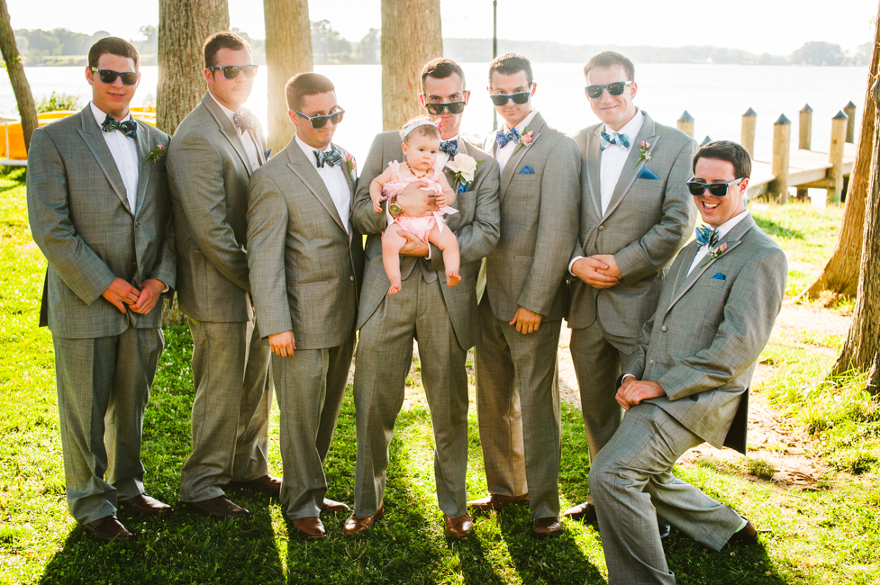 groomsmen grey suits maryland wedding