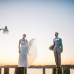 Ross & Lydia's Personalized, Offbeat St. Mary's College Wedding in Maryland