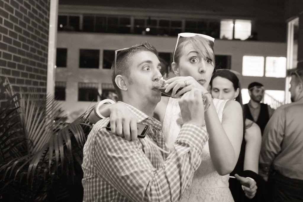 offbeat washington dc wedding reception