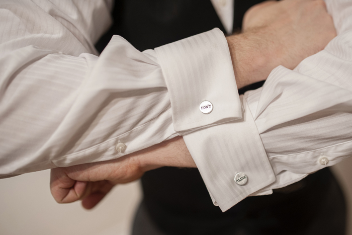 offbeat dc nerdy groom cufflinks