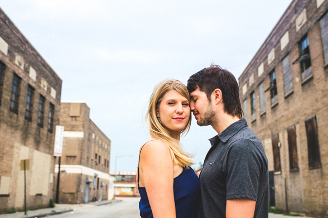 union market alternative washington DC engagement pictures