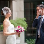 John & Aleza's Modern, Teal Washington DC Wedding