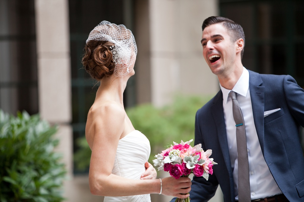 modern dc wedding