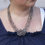 Win a Signature Glass Bead & Rhinestone Bridesmaid Necklace from Everistta