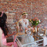 Eclectic, Vintage Bridal Shower Luncheon Inspiration Shoot