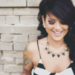 Punk Rock Bridal Inspiration ~ A Gorgeous Tattooed Bride