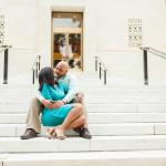 Raheem & Kyra's Downtown Washington DC Engagement Session