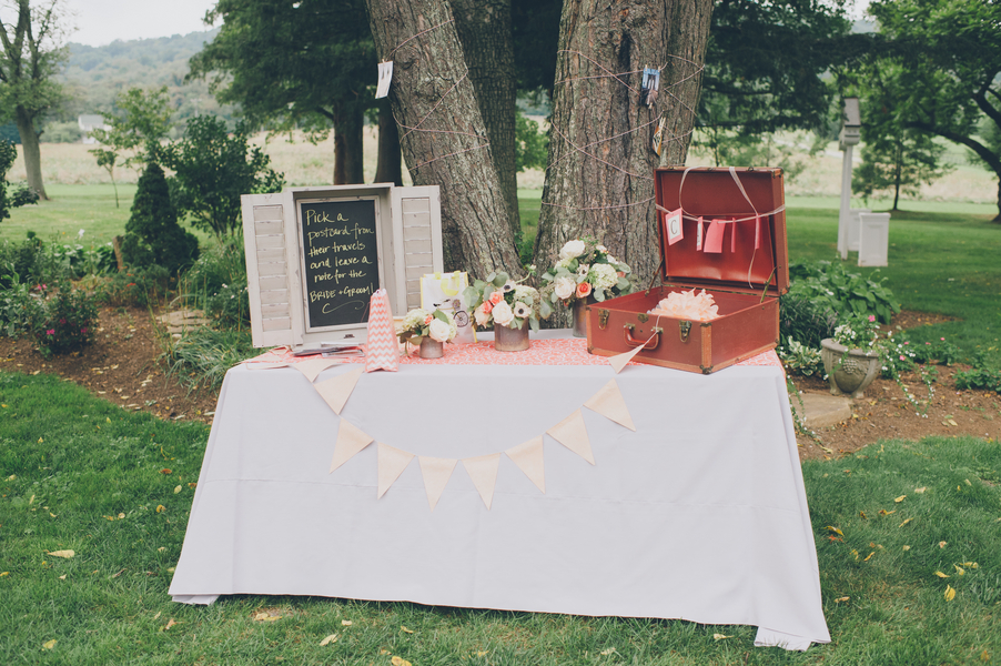 DIY rustic virginia wedding details
