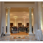 Discount Wedding Uplighting with White Light Uplighting