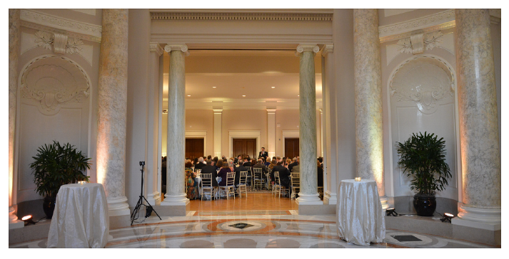 affordable dc wedding uplighting