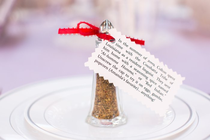 spice wedding favors
