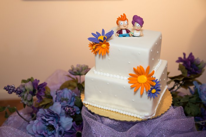 futurama cake toppers