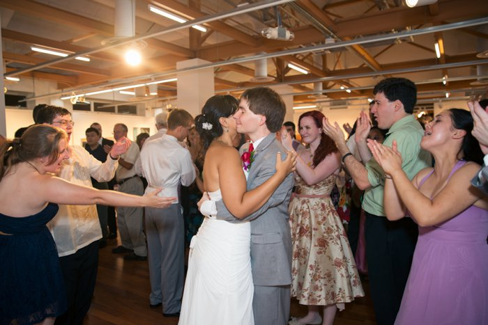 first dance offbeat virginia wedding