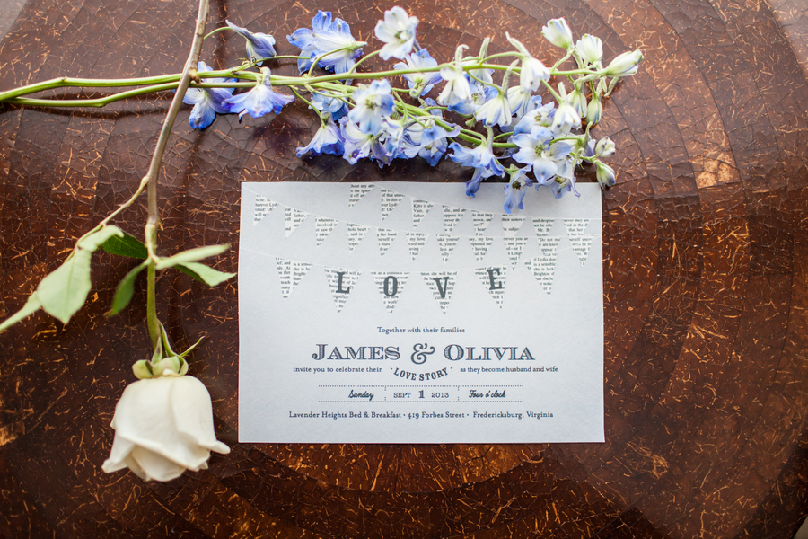 rustic minted wedding invitations