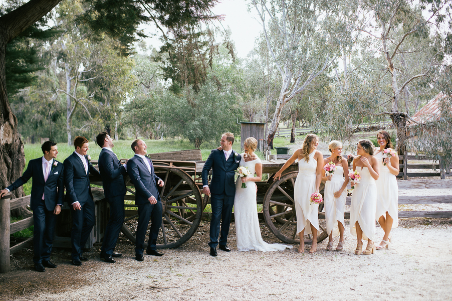 romantic white wedding australia