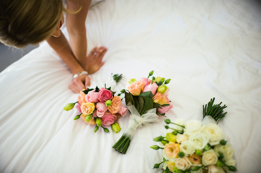 simple wedding bouquets