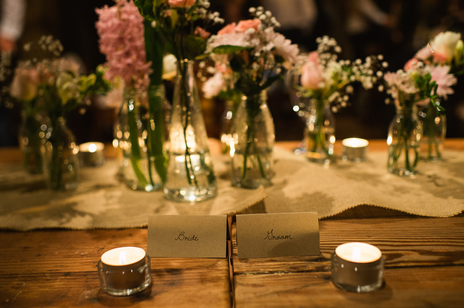 farmhouse barn wedding reception