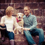 Ashley & Jason's Manchester Bride Engagement Session in Richmond, VA