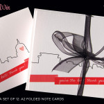Giveaway: Washington DC Thank You Cards from Tabibi Design