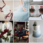 Winter Romance Color & Wedding Inspiration Board